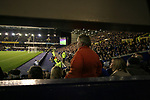 Everton 1, West Ham United 2, 14/12/2005. Goodison Park, FA Premiership. Home fans watching on from the stands as Everton host West Ham United in a mid-season game on Merseyside. The away team came from behind to win, watched by a crowd of 35,704. Photo by Colin McPherson.