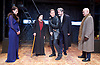 Richard III<br /> by William Shakespeare <br /> at Arcola Theatre, London, Great Britain <br /> Press photocall <br /> 12th May 2017 <br /> Georgina Rich as Lady Anne <br /> Annie Firbank as Duchess of York <br /> Greg Hicks as Richard <br /> Mark Jax as Hastings <br /> Peter Guinness as Buckingham <br /> <br /> Photograph by Elliott Franks <br /> Image licensed to Elliott Franks Photography Services
