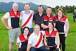 The Workmens RC team that participated in the Tug of War event in Killarney Racecouse on sunday front row l-r: Paulie O'brien, Timmy Moynihan, Una Nealan. back row: john O'Leary, Denis McMahon, Patrick O'Donoghue, Hugh Rudden, Mannah magella O';Donoghue
