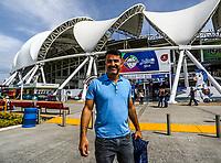 Edgar Gonzalez de organizacion de Serie del Caribe.<br /> Aspectos previos a la Serie del Caribe 2018 a celebrarse en estadio de los Charros en Guadalajara Jalisco, M&eacute;xico , 1 de febrero de 2018.<br /> (Foto / Luis Gutierrez)