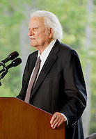 PRIVATE CEREMONY TO DEDICATE THE NEW BILLY GRAHAM LIBRARY IN CHARLOTTE , NC  05-31-2007.PHOTO BY JONATHAN GREEN