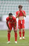 27.06.2020, Fussball: nph00001 1. Bundesliga 2019/2020, 34. Spieltag, VfL Wolfsburg - FC Bayern Muenchen, in der Volkswagen-Arena Wolfsburg. Serge Gnabry (Bayern MŸnchen)<br /><br />Foto: Bernd Feil/M.i.S./ /Pool/nordphoto<br /><br />Nur fŸr journalistische Zwecke! Only for editorial use! <br /><br />GemŠ§ den Vorgaben der DFL Deutsche Fussball: nph00001 Liga ist es untersagt, in dem Stadion und/oder vom Spiel angefertigte Fotoaufnahmen in Form von Sequenzbildern und/oder videoŠhnlichen Fotostrecken zu verwerten bzw. verwerten zu lassen. DFL regulations prohibit any use of photographs as image sequences and/or quasi-video.    <br /><br />National and international NewsAgencies OUT.