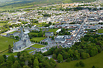An aerial view of St. mary's cathedral, Killarney.<br /> Picture by Don MacMonagle