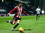 Tyler Smith of Sheffield United under 18's during the FA Youth Cup 3rd Round match at Deepdale Stadium, Preston. Picture date: November 30th, 2016. Pic Matt McNulty/Sportimage