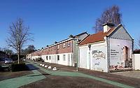 Nederland  Eindhoven -  2018.  Straat in Woensel West. Deze wijk wordt grondig opgeknapt . Foto Berlinda van Dam / Hollandse Hoogte