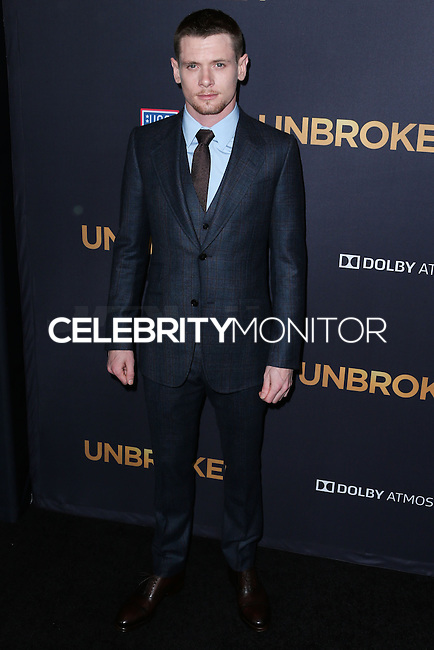 HOLLYWOOD, LOS ANGELES, CA, USA - DECEMBER 15: Jack O'Connell arrives at the Los Angeles Premiere Of Universal Pictures' 'Unbroken' held at the Dolby Theatre on December 15, 2014 in Hollywood, Los Angeles, California, United States. (Photo by Xavier Collin/Celebrity Monitor)