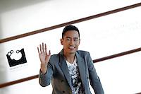 SAN SEBASTIAN, ESPANHA, 26 SETEMBRO 2012 - FESTIVAL DE CINEMA DE SAN SEBASTIAN - O ator Chen Taishen durante divulgação do filme 'All Apologies', durante o 60º Festival de Cinema de San Sebastian, em San Sebastian, norte da Espanha, nesta quarta-feira, 26. (FOTO: ALFAQUI / BRAZIL PHOTO PRESS).