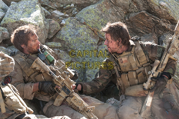 Taylor Kitsch, Mark Wahlberg<br /> in Lone Survivor (2013) <br /> (Du Sang et des Larmes)<br /> *Filmstill - Editorial Use Only*<br /> CAP/NFS<br /> Image supplied by Capital Pictures