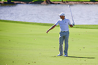 Sergio Garcia (ESP) immediately looks behind him after his approach shot on 9 during round 2 of the Honda Classic, PGA National, Palm Beach Gardens, West Palm Beach, Florida, USA. 2/24/2017.<br /> Picture: Golffile | Ken Murray<br /> <br /> <br /> All photo usage must carry mandatory copyright credit (&copy; Golffile | Ken Murray)