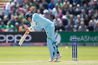 Joe Root (England) plays square for a single during England vs Bangladesh, ICC World Cup Cricket at Sophia Gardens Cardiff on 8th June 2019