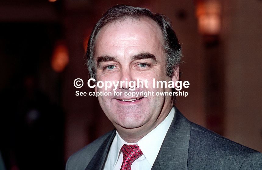 Andrew MacKinlay, MP, Labour Party, UK, at annual conference. 199409033.<br />