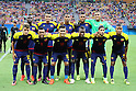 Colombia team group line-up (COL), <br /> AUGUST 4, 2016 - Football / Soccer : <br /> Men's First Round Group B <br /> between Sweden 2-2 Colombia <br /> at Amazonia Arena <br /> during the Rio 2016 Olympic Games in Manaus, Brazil. <br /> (Photo by YUTAKA/AFLO SPORT)