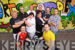 Contestants and trainers in 'The Biggest Loser's' pictured at Listowel Community Centre last Tuesday, pictured kneeling l-r: Tony Duggan, Pavel Karakeyhov, standing l-r: Jim Halpin, John Hannon, Teresa O'Sullivan, Mark Charlton, Ann Kennelly, Pierse Walsh, Gordan Flannery and Kevin Beasley..