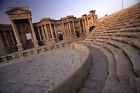 SIRIA - sito di Palmira(Tadmor) -teatro _ Guglielminotti 9/2003