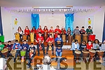 Stage shot of the Christmas play in Moyderwell NS on Thursday.