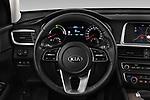 Car pictures of steering wheel view of a 2019 KIA Optima Sense  5 Door Wagon