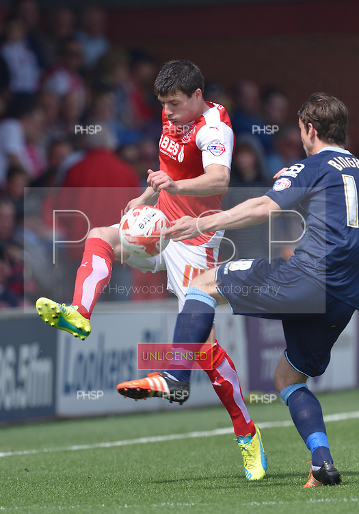 08/05/2016 Sky Bet League 1 Fleetwood Town v <br /> Crewe Alexandra<br /> Bobby Grant