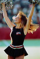 Cheerleader Ottawa Rough Riders 1991. Photo Scott Grant