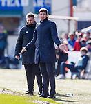 08.03.2020: Ross County v Rangers: Steven Gerrard
