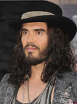 HOLLYWOOD, CA - JUNE 08: Russell Brand arrives at the 'Rock Of Ages' - Los Angeles Premiere at Grauman's Chinese Theatre on June 8, 2012 in Hollywood, California.