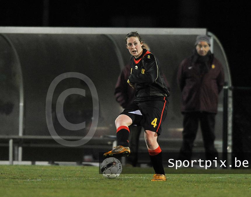 Belgium Dames U19 - selectie brabant jongens U15 :  Britt Vanhamel.foto DAVID CATRY / Vrouwenteam.be