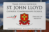 Pictured: St John Lloyd School, in Llanelli, Carmarthenshire, UK. <br /> Re: A schoolboy who died amid claims he was bullied at St John Lloyd School, has been named locally as Bradley John, amid claims he was bullied  in Llanelli, Wales, UK.<br /> School staff raised concerns for the wellbeing of the pupil at 12pm but he later died in hospital.<br /> The family has been informed and being supported by specialist officers.<br /> Police said the child's death was not suspicious and told parents there was no need to be concerned for the welfare of their children.<br /> St John Lloyd, a Catholic school for children aged between 11 and 16, says it is working with the local authority, the diocese and Dyfed-Powys Police in order to ensure pupils and staff are supported.