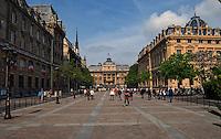 Law courts, Paris, France.