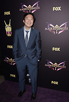 WEST HOLLYWOOD, CA - DECEMBER 13: Panelist Ken Jeong attends the premiere karaoke event for season one of THE MASKED SINGER on Thursday, Dec.13 at The Peppermint Club in West Hollywood, California. (Photo by Scott Kirkland/FOX/PictureGroup)