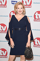 Sara Stewart<br /> arriving for the TV Choice Awards 2017 at The Dorchester Hotel, London. <br /> <br /> <br /> &copy;Ash Knotek  D3303  04/09/2017