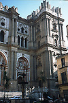 the unfinished tower of the Malaga Cathedral &quot;La Encarnaci&oacute;n&quot; (Cathedral of the Incarnation), also called La Manquita (The Missing)<br /> <br /> el torre de la Catedral La Encarnaci&oacute;n, tambi&eacute;n conocida como La Manquita<br /> <br /> der nicht fertiggstellte Turm der Kathedrale La Encarnaci&oacute;n, auch &quot;La Manquita&quot; genannt<br /> <br /> Original: 35 mm slide transparency