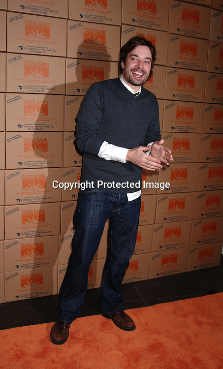 "Jimmy Fallon ..arriving at The Food Bank for New York City's Annual ' Can..Do"" Awards to help end Hunger in New York City on ..April 25, 2006 at Pier Sixty at Chelsea Piers. ..Robin Platzer, Twin Images"