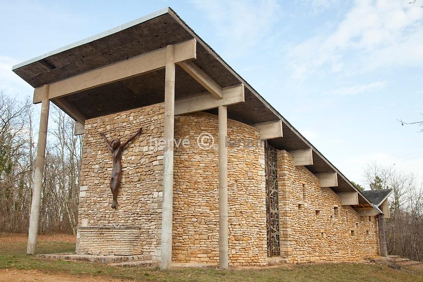 France, Yonne (89), Sermizelles, chapelle Notre-Dame d'Orient // France, Yonne, Sermizelles, chapel Notre-Dame d'Orient.