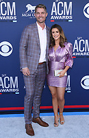 07 April 2019 - Las Vegas, NV - Brett Young. 54th Annual ACM Awards Arrivals at MGM Grand Garden Arena. Photo Credit: MJT/AdMedia<br /> CAP/ADM/MJT<br /> &copy; MJT/ADM/Capital Pictures
