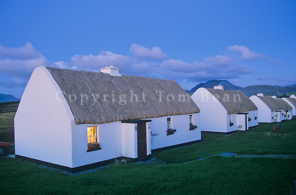 Tullycross cottages, Connemara Region of County Galway, Ireland, AGPix_0141.