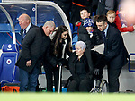 03.04.2019 Rangers v Hearts: Colin Stein and Ian Durrant with Tiny Gallacher