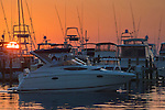Luxury yachts in marina at The Sandestin Golf & Beach Resort; Destin; Florida