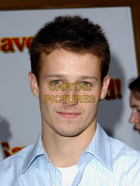"WILL ESTES.At the United Artists' World Premiere of ""Saved!"" at the Mann National Theatre, .Westwood, California,.May 13,2004.portrait headshot.*UK sales only*.www.capitalpictures.com.sales@capitalpictures.com.©Debbie Van Story/Capital Pictures"