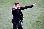 Atletico de Madrid's coach Diego Pablo Cholo Simeone during La Liga match. March 19,2017. (ALTERPHOTOS/Acero)