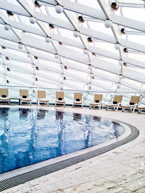 Yas Viceroy Hotel. Abu Dhabi. Asymptote Architects
