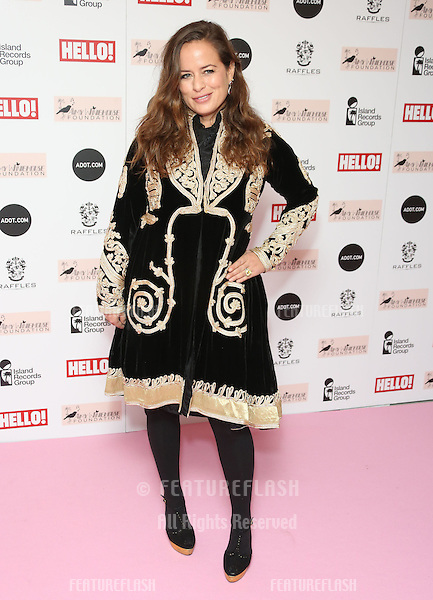 Jade Jagger arriving at the The Amy Winehouse foundation ball held at the Dorchester hotel, London. 20/11/2012 Picture by: Henry Harris / Featureflash