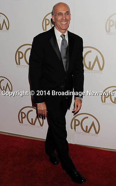 Pictured: Jeffrey Katzenberg<br /> Mandatory Credit &copy; Joseph Gotfriedy/Broadimage<br /> 25th Annual Producers Guild Awards<br /> <br /> 1/19/14, Beverly Hills, California, United States of America<br /> <br /> Broadimage Newswire<br /> Los Angeles 1+  (310) 301-1027<br /> New York      1+  (646) 827-9134<br /> sales@broadimage.com<br /> http://www.broadimage.com
