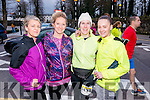 L-R Maeve Horgan, Melissa Nix, Catherine Costello and Orla Brosnan at the Good Friday 5 miles run in Killarney last Friday.