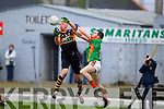 Kieran Donaghy Austin Stacks in action against Fergal Griffin Mid Kerry in the Kerry Senior County Football Final at Fitzgerald Stadium on Sunday.
