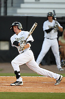 UCF Knights outfielder Alex Friedrich #39 at bat during a game against the Siena Saints at the UCF Baseball Complex on March 3, 2012 in Orlando, Florida.  UCF defeated Siena 6-4.  (Mike Janes/Four Seam Images)