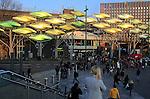 People shopping at Stratford Centre, Stratford, London, England, UK