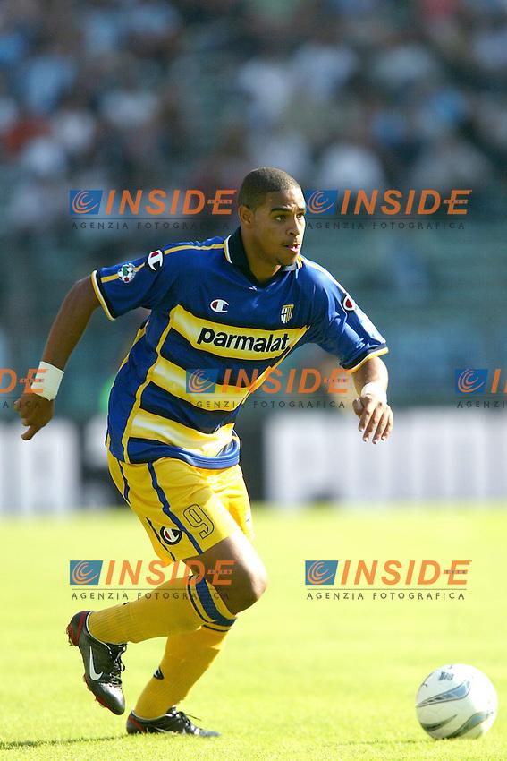 Roma 21/9/2003<br /> Lazio Parma<br /> Adriano (Parma)<br /> Foto Insidefoto