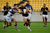 Wellington&rsquo;s Matt Proctor in action during the Mitre 10 Cup - Wellington v Auckland at Westpac Stadium, Wellington, New Zealand on Thursday 4 October 2018. <br /> Photo by Masanori Udagawa. <br /> www.photowellington.photoshelter.com