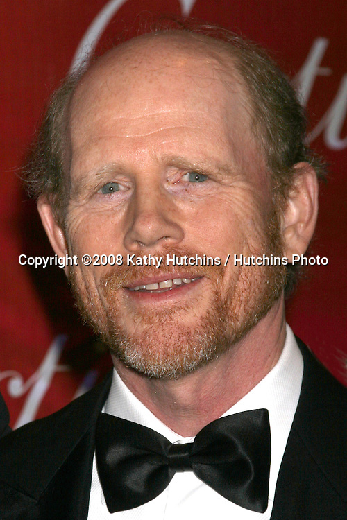 Ron Howard  arriving at the 20th Annual Palm Springs Film Festival Awards Gala at the Palm Springs Convention Center in Palm Springs, CA on .January 6, 2009.©2008 Kathy Hutchins / Hutchins Photo..                .