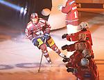 08.09.2017, Mercedes Benz Arena, Berlin, GER, 1.DEL, EISBAEREN BERLIN  VS.  THOMAS SABO ICE TIGERS, im Bild <br /> Blake Parlett (Eisbaeren Berlin #71)<br /> <br />      <br /> Foto &copy; nordphoto / Engler