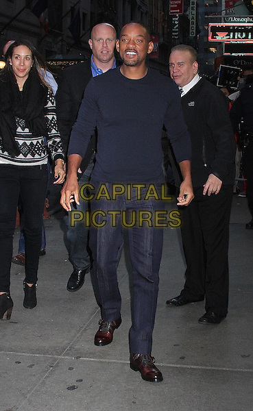 NEW YORK, NY - DECEMBER 15: Will Smith visits 'Good Morning America' in New York, New York on December 15, 2015.<br /> CAP/MPI/RMP<br /> &copy;RMP/MPI/Capital Pictures